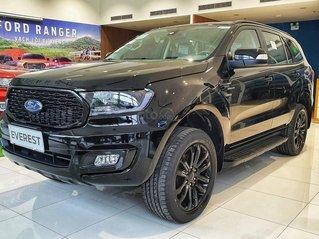 Ford Everest Sport 2021 ngập tràn ưu đãi tiền mặt và phụ kiện