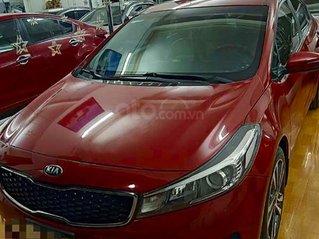 Bán ô tô Kia Cerato năm sản xuất 2018, màu đỏ còn mới giá cạnh tranh