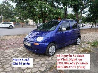 Cần bán lại xe Daewoo Matiz sản xuất năm 1999, màu xanh lam
