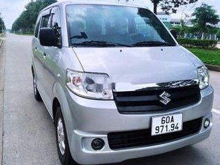 Cần bán lại xe Suzuki APV sản xuất năm 2009, màu bạc còn mới, giá tốt