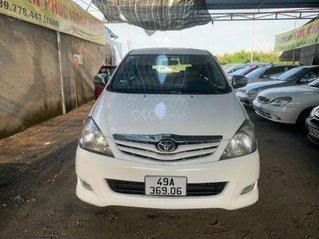 Cần bán lại xe Toyota Innova sản xuất 2008, màu trắng giá cạnh tranh