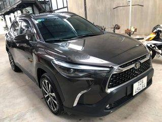 Bán xe Toyota Corolla Cross đời 2020, màu nâu số tự động