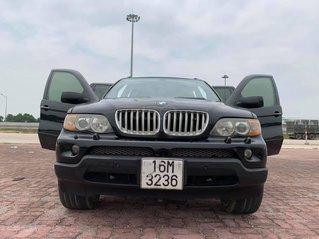 Cần bán BMW X5 đời 2005, màu đen như mới, giá tốt 218tr