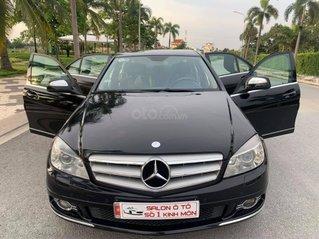 Cần bán gấp Mercedes C200 đời 2007, màu đen, 345 triệu