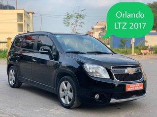 Cần bán xe Chevrolet Orlando LTZ 1.8 đời 2017, màu đen, 455tr