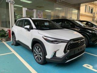 Bán Toyota Cross 2021, chỉ 220tr nhận xe ngay, giao xe ngay, hỗ trợ lái thử, giá rẻ nhất Miền Bắc