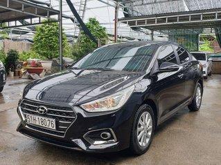 Cần bán Hyundai Accent năm 2019, màu đen số sàn