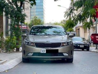 Cần bán xe Kia Cerato 1.6 MT sản xuất 2018, màu ghi vàng, số sàn, giá chỉ 455 triệu