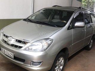 Bán gấp Toyota Innova sản xuất năm 2006, xe gia đình, giá cực tốt
