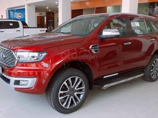 Bán xe Ford Everest Titanium 4x4 sản xuất 2021, màu đỏ