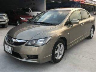 Cần bán lại xe Honda Civic 1.8AT sản xuất năm 2010, màu ghi vàng