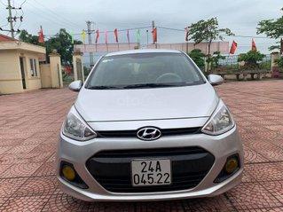 Bán Hyundai Grand i10 năm sản xuất 2015, màu bạc, nhập khẩu Hàn Quốc