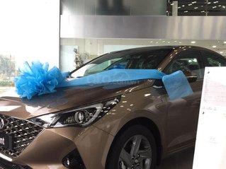 Bán Hyundai Accent sản xuất 2021, màu nâu