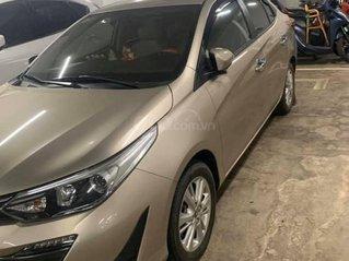 Bán xe Toyota Vios đời 2019, màu nâu giá cạnh tranh