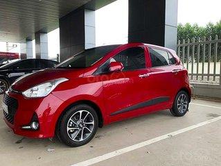 Cần bán gấp Hyundai Grand i10 1.2 AT năm sản xuất 2019, màu đỏ