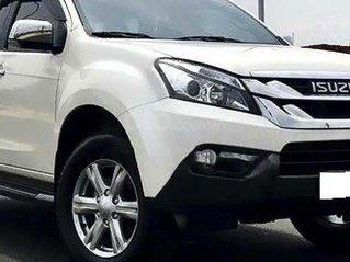 Bán ô tô Isuzu mu-X đời 2017, màu trắng, nhập khẩu còn mới, giá chỉ 699 triệu
