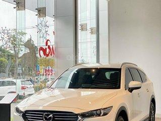 Bán Mazda CX8 Deluxe 2021- chào hè rực rỡ, giao xe ngay full màu