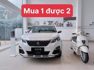 Chương trình ưu đãi mua 1 xe ô tô Peugeot 5008 tặng 1 xe máy
