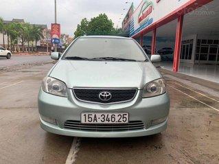 Giá chỉ 165tr có ngay Toyota Vios đời 2003, màu bạc