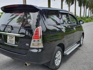 Cần bán lại xe Toyota Innova năm 2007, màu đen xe gia đình