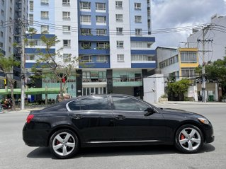 Lexus GS350 nhập Mỹ sx 2008 màu đen, nội thất nâu full đồ chơi, nệm da, đa âm thanh JBL DVD, loa sub