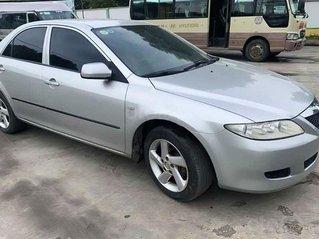 Bán ô tô Mazda 6 2.0 MT sản xuất năm 2004, màu bạc