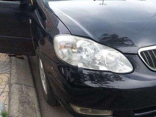 Bán ô tô Toyota Corolla Altis sản xuất 2003, màu đen chính chủ, 198 triệu