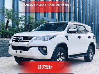 Bán Toyota Fortuner 2018, màu trắng, 875 triệu