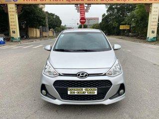 Cần bán lại xe Hyundai Grand i10 1.2 MT năm sản xuất 2019, màu bạc