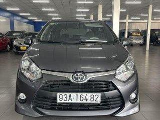 Cần bán xe Toyota Wigo 1.2MT năm sản xuất 2019, màu xám giá cạnh tranh