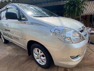 Cần bán xe Toyota Innova sản xuất năm 2006, màu bạc