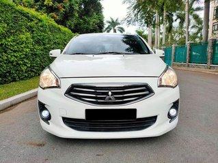 Bán Mitsubishi Attrage CVT sản xuất năm 2018, màu trắng, nhập khẩu