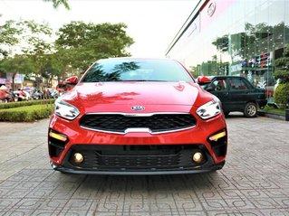 Kia Cerato 2021 Số tự động màu đỏ giao liền. Đưa trước 216 triệu nhận xe tại Kia Gò Vấp