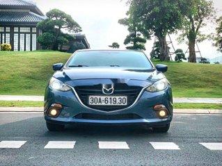 Cần bán Mazda 3 đời 2015, màu xanh lam, giá tốt
