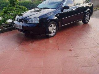 Bán Daewoo Lacetti năm sản xuất 2004, màu đen, xe nhập chính chủ