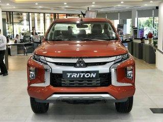 Bán xe Mitsubishi Triton 2021 trả góp 169tr nhận xe, xe đủ màu, giảm ngay 20tr trong T6, giao xe ngay