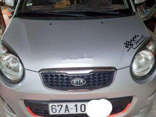 Cần bán Kia Morning sản xuất 2010, màu bạc xe gia đình giá cạnh tranh