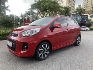 Bán Kia Morning S AT sản xuất năm 2018, màu đỏ chính chủ, giá 355tr
