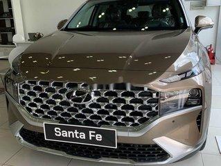 Bán xe Hyundai Santa Fe đời 2021, màu nâu