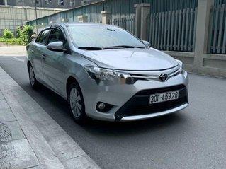 Cần bán Toyota Vios đời 2017, màu bạc còn mới, 395 triệu