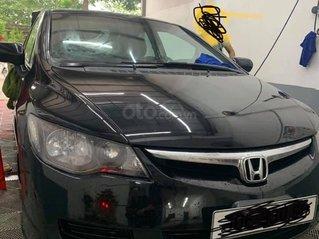 Bán Honda Civic đời 2008, màu đen số tự động, 260tr