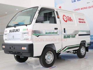 Suzuki Blinvan 2021 chạy giờ cấm, giảm 35tr + bảo hiểm 2 chiều (hoặc giảm 40tr trực tiếp), giao xe ra biển số sau 2 ngày