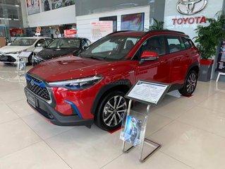 Cần bán lại xe Toyota Corolla Cross sản xuất 2021, màu đỏ, xe nhập
