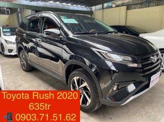 Cần bán lại xe Toyota Rush sản xuất năm 2020, màu đen