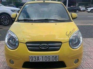 Cần bán lại xe Kia Morning sản xuất 2009, màu vàng số tự động, giá chỉ 188 triệu