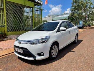 Bán Toyota Vios sản xuất 2017, màu trắng giá cạnh tranh