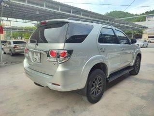 Cần bán lại xe Toyota Fortuner sản xuất 2015, màu bạc số tự động