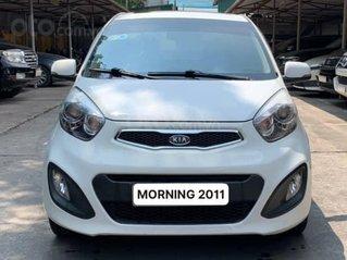 Xe Kia Morning sản xuất 2011, màu trắng, nhập khẩu