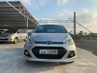 Bán Hyundai Grand i10 sản xuất 2017, màu bạc, nhập khẩu số tự động giá cạnh tranh