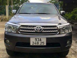Cần bán Toyota Fortuner 2.5G năm 2009, màu xám còn mới giá cạnh tranh